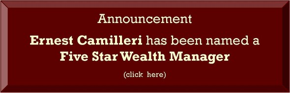 Ernest Camilleri has been named a Five Star Wealth Manager